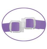 Pipedream Products Fetish Fantasy Elite Vibrating Double Delight Silicone Strap-On (Purple)