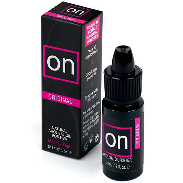 Sensuva ON Arousal Oil for Her: Original 0.17 oz (5 ml)