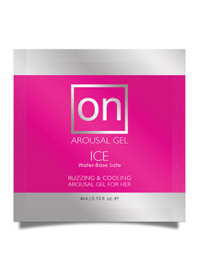 Sensuva ON Ice Female Arousal Gel Foil Pack