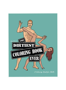 Wood Rocket Adult Colouring Book: The Dirtiest Coloring Book Ever