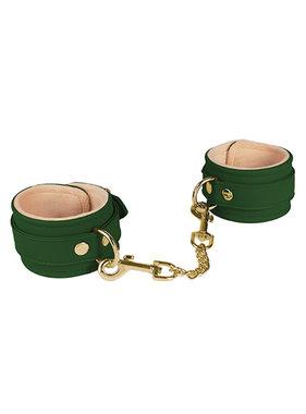 Spartacus Spartacus PU Wrist Cuffs w/Plush Lining