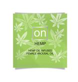 Sensuva ON Hemp Female Arousal Oil 0.02 oz (0.5 ml) Foil Pack