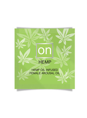 Sensuva ON Hemp Female Arousal Oil Foil Pack