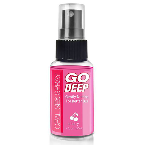 Topco Sales Go Deep Oral Sex Spray 1 oz (30 ml)