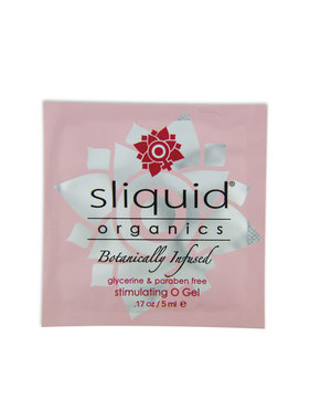Sliquid Lubricants Sliquid Organics Stimulating O Gel Foil Pack