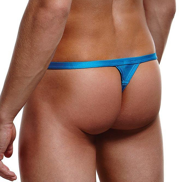 Baci Lingerie Break-A-Way Thong (Blue)