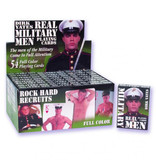 Real Military Men Playing Cards