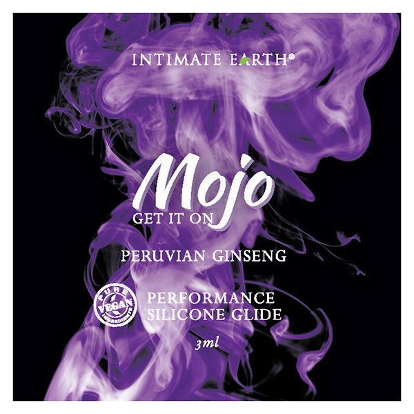 Intimate Earth Body Products MOJO Silicone Performance Glide Peruvian Ginseng (3 ml) Foil Pack