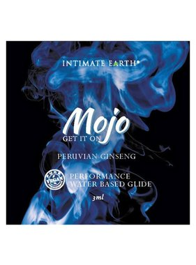 Intimate Earth Body Products MOJO Water-Based Performance Glide Foil Pack