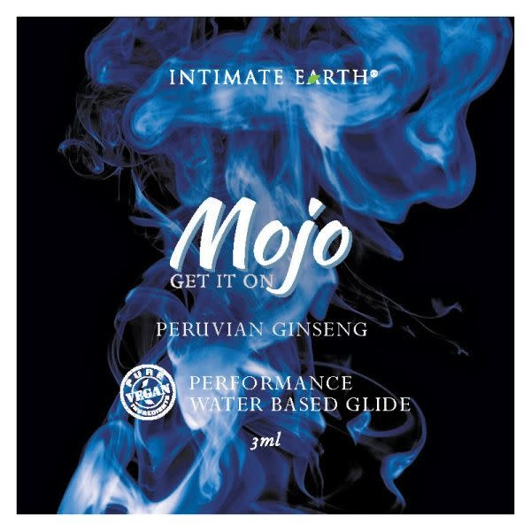 Intimate Earth Body Products MOJO Water-Based Performance Glide Peruvian Ginseng (3 ml) Foil Pack