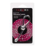 Cal Exotics E-Z Cinch Silicone Lasso Cock Ring (Black)