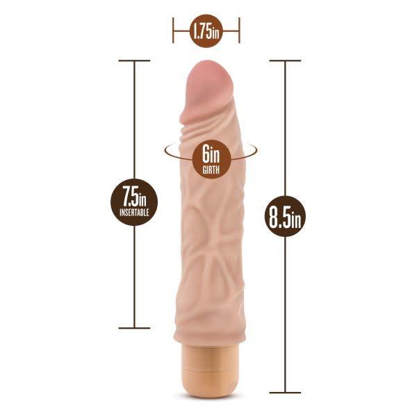 Blush Novelties Dr. Skin Vibe 10 (Beige)