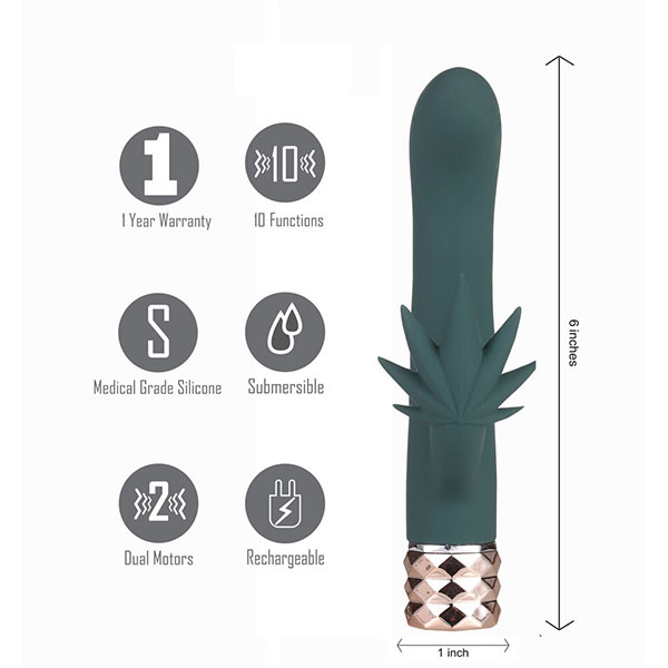 Maia Kusha Rechargeable Rabbit Vibe