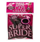 Little Genie Bachelorette Super Bride: Cape & Mask Set