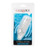 Cal Exotics Stimulation Enhancer Sleeve (Clear)