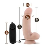 "Blush Novelties Loverboy The Quarterback 7"" Vibrating Dildo"