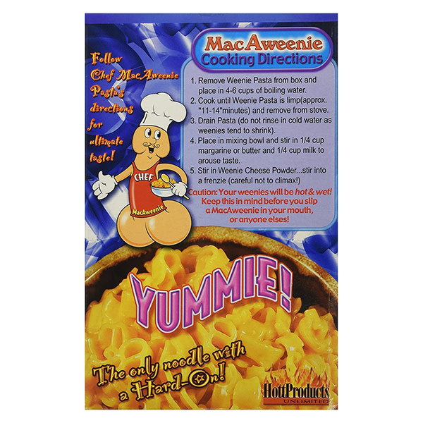 Hott Products Macaweenie & Cheese