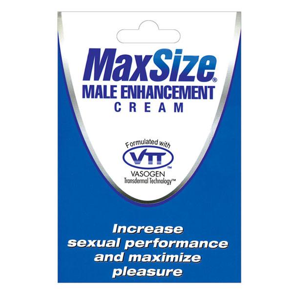 Swiss Navy MaxSize Male Enhancement Cream (Foil Pack)