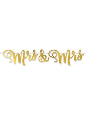 Beistle Company Mrs & Mrs Streamer