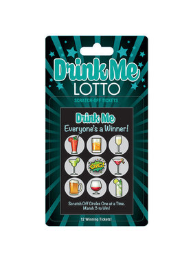 Little Genie Drink Me Lotto Scratch Cards