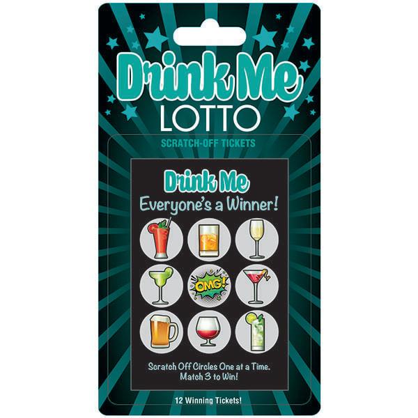 Little Genie Drink Me Lotto Scratch Cards