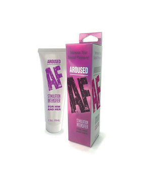 Little Genie Aroused AF Stimulation Intensifier for Him and Her 1.5 oz