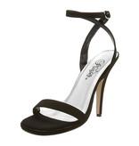 Pleaser USA HONEY-25 Single Sole Mid Heel (Black) Size 6