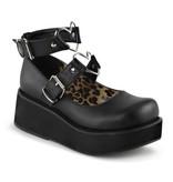 Pleaser USA SPRITE-02 Platform Mary Jane Featuring Wrap Around Ankle Strap (Size 9)