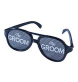 Forum Novelties Bachelor Party Groom Glasses