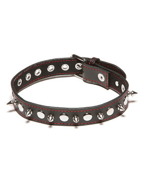 Allure Leather XPlay Spiked Collar