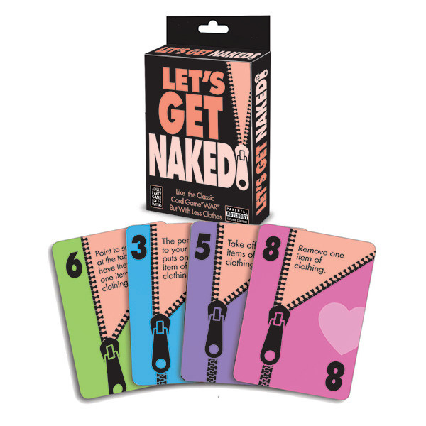 Little Genie Let's Get Naked Card Game
