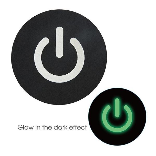 X-Gen Products Glow in the Dark Power Button Nipple Pasties