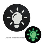 X-Gen Products Glow in the Dark Light Bulb Nipple Pasties