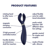 Satisfyer Satisfyer Endless Fun Multi Vibrator (Blue)