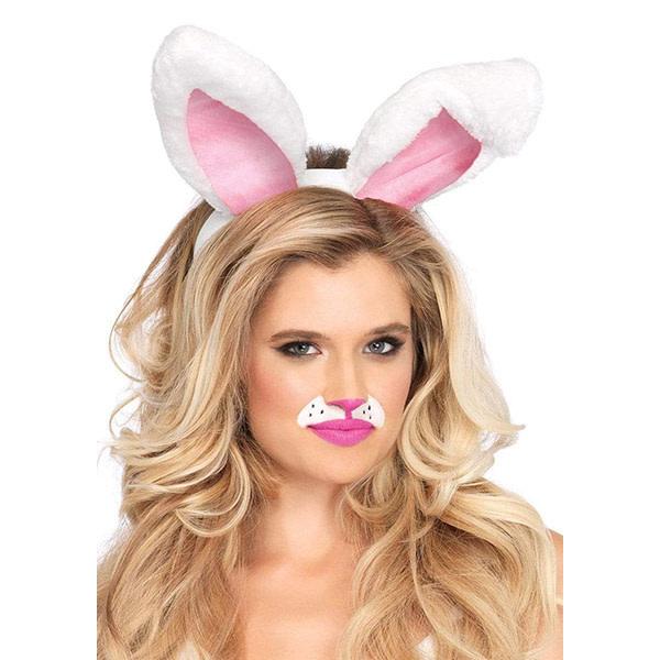 Leg Avenue Bunny Ears (White)
