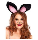 Leg Avenue Bunny Ears (Black)