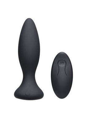 Doc Johnson Toys A-Play Vibe Silicone Vibrating Butt Plug with Remote