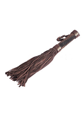 Premium Products Brown Large Suede Flogger