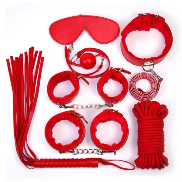 Premium Products Adventurous Nights 7 Piece Bondage Kit