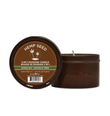 Earthly Body Hemp Seed 3-in-1 Massage Candle 6 oz (170 g)