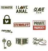 Premium Products Naughty Temporary Tattoos