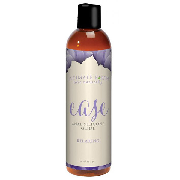 Intimate Earth Body Products Ease Anal Silicone Relaxing Glide 4 oz (120 ml)