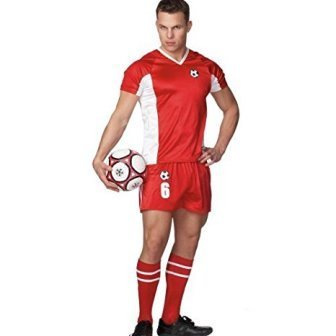 Coquette International Lingerie (Costume) Male Soccer Player