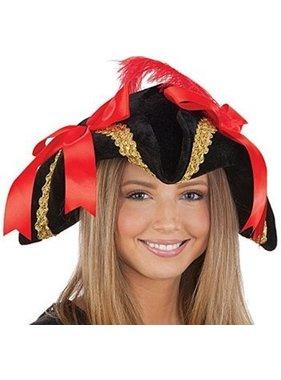 (Costume) Velvet Pirate Hat