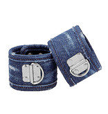 Shots America Toys Ouch! Roughened Denim Ankle Cuffs