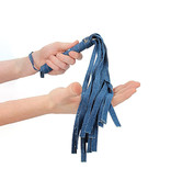 Shots America Toys Ouch! Roughened Denim Flogger
