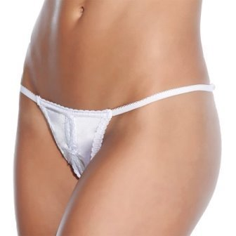 Coquette International Lingerie Crotchless Panty (One Size Plus)