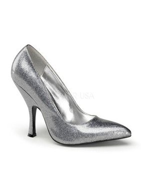 Pleaser USA BOMBSHELL-01G Curved Heel Classic Pump