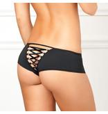Rene Rofe Lingerie Crotchless Lace Back Panty