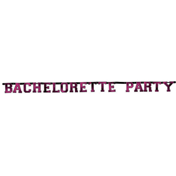 Hott Products Bachelorette Party Letter Banner